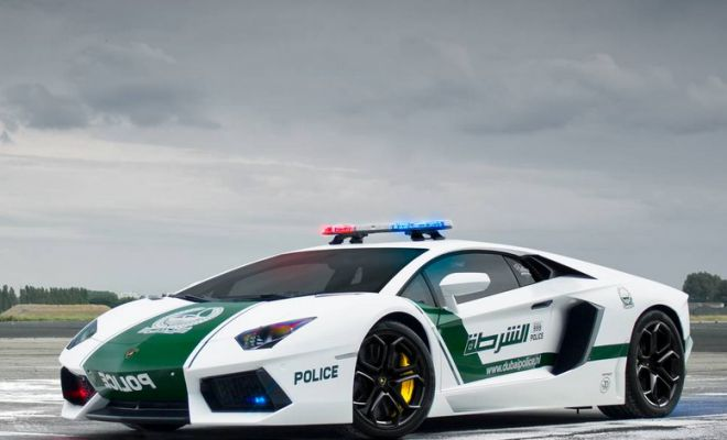 World's Fastest Police Cars: Behind The Scenes Of Dubai's $6.5m Supercar Fleet