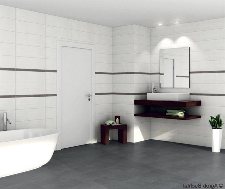 Tolle Schöne Dekoration Badezimmer Schwarz Weiss schwarz und ...
