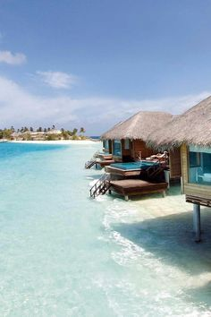 Opt for a Lagoon Bungalow and you'll have direct access to the shimmering lagoon. PER AQUUM Huvafen Fushi (Huvafen Fushi, Maldives) /  Jetsetter