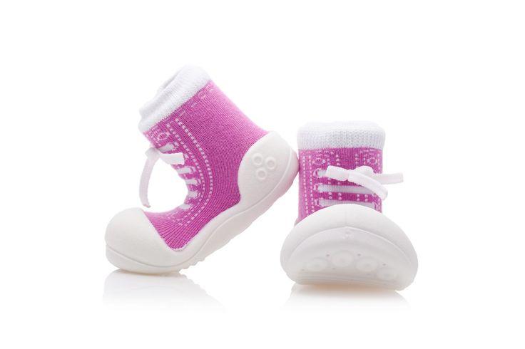 Dziewczęce buciki Attipas Sneakers Purple