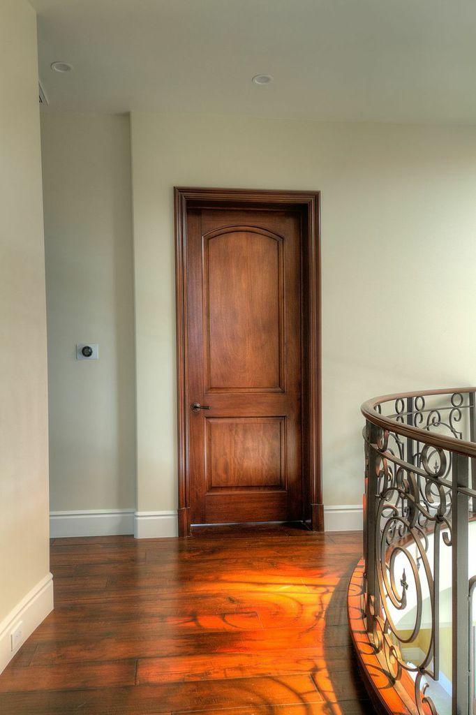 Walk around your second floor and walk through an elegant mahogany door to your bedroom thanks to ETO Doors