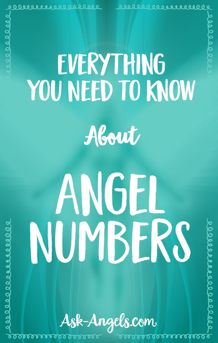 Everything You Need To Know About Angel Numbers #angels #numbers #numerology