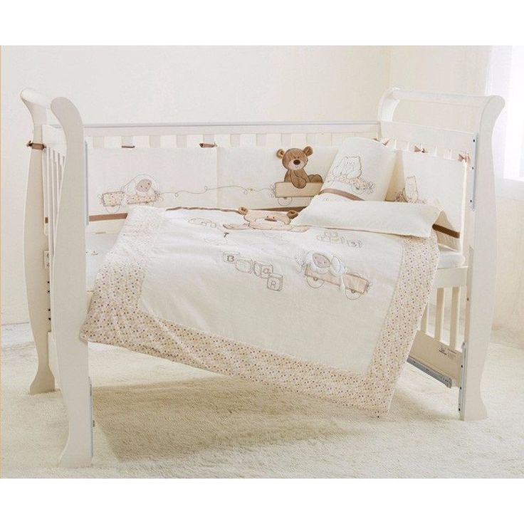 Baby 7 Piece Quilted Cot Set
