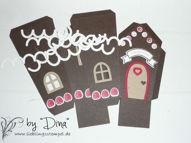°°°Lieblingsstempel°°° kreativ mit Stempel und Papier und Stampin´Up!: Lebkuchenhaus-Bausatz