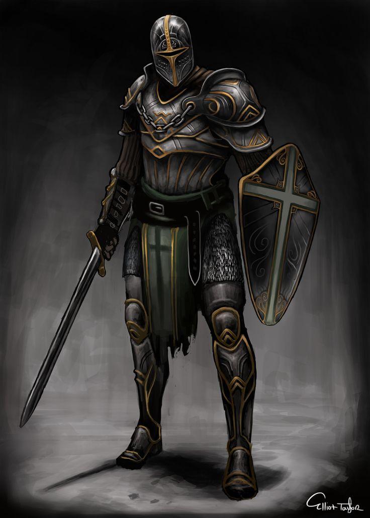 Pin by Josh Purple on Art | Fantasy armor, Knight art ...