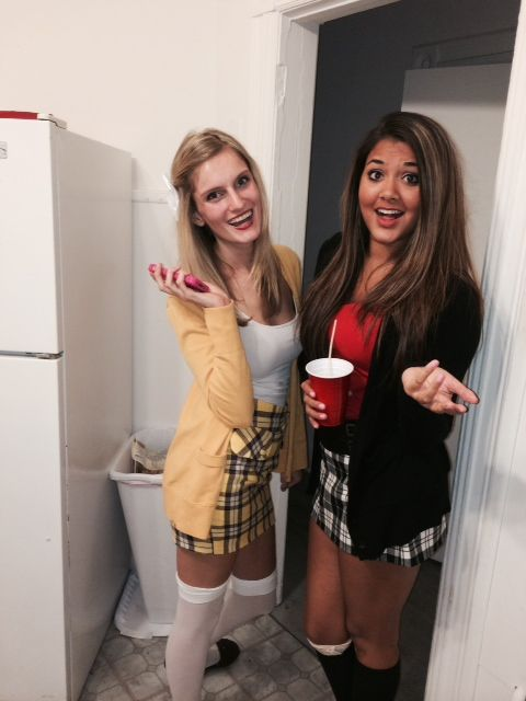 You are your bestie will be the life of the party in one of these amazing BFF costumes. Cher and Dionne from Clueless