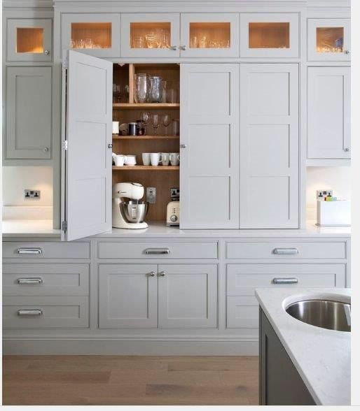 I want to add the cabinet above my regular cabinets
