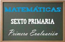Matemáticas Sexto Primaria 1
