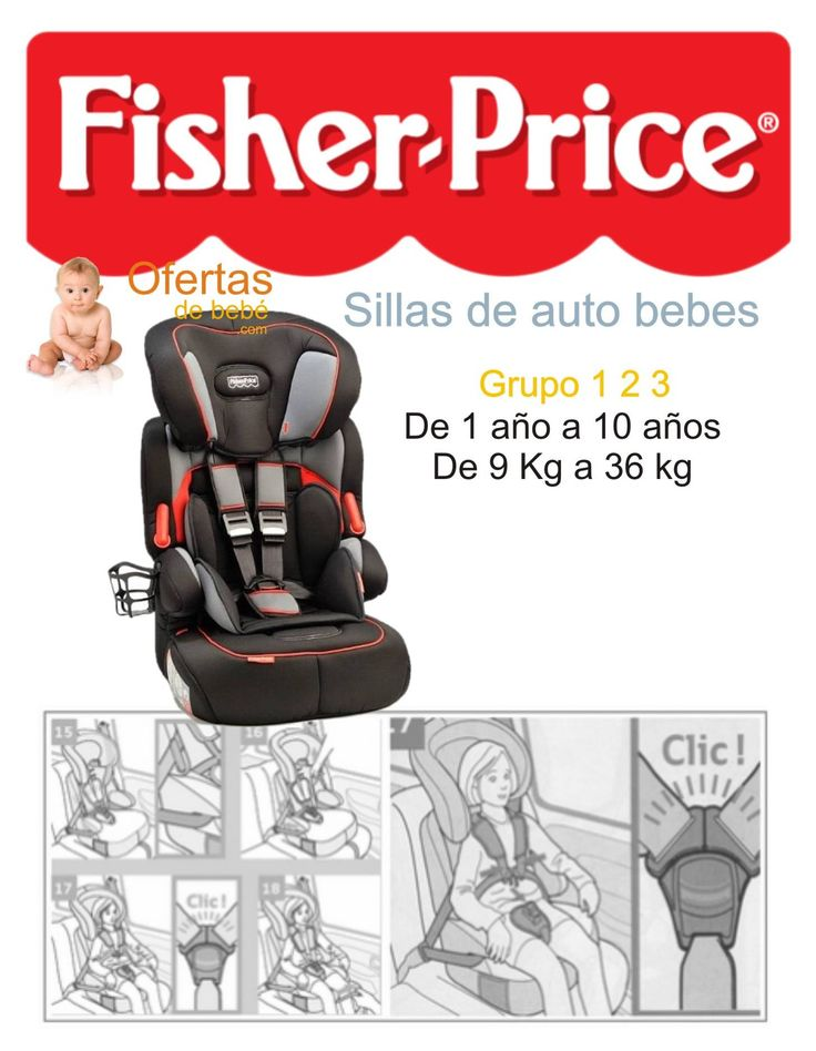 Moonlight las mejores ofertas en sillas de auto bebes for Silla fisher price
