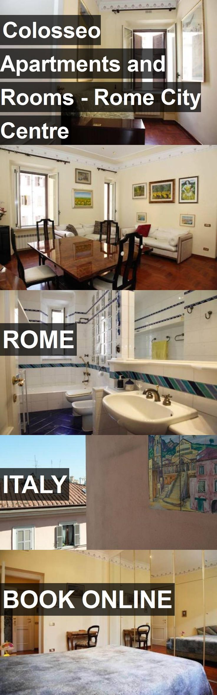 Hotel Colosseo Apartments and Rooms - Rome City Centre in Rome, Italy. For more information, photos, reviews and best prices please follow the link. #Italy #Rome #ColosseoApartmentsandRooms-RomeCityCentre #hotel #travel #vacation