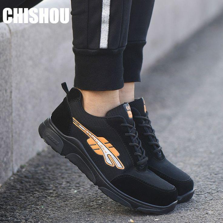 Botas Con Punta De Acero Para Mujer Sneakers Work Shoes Sport Shoes