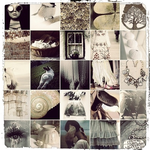 Mosaic Monday    #mosaicmontagemonday #montage #collage #brown #tan