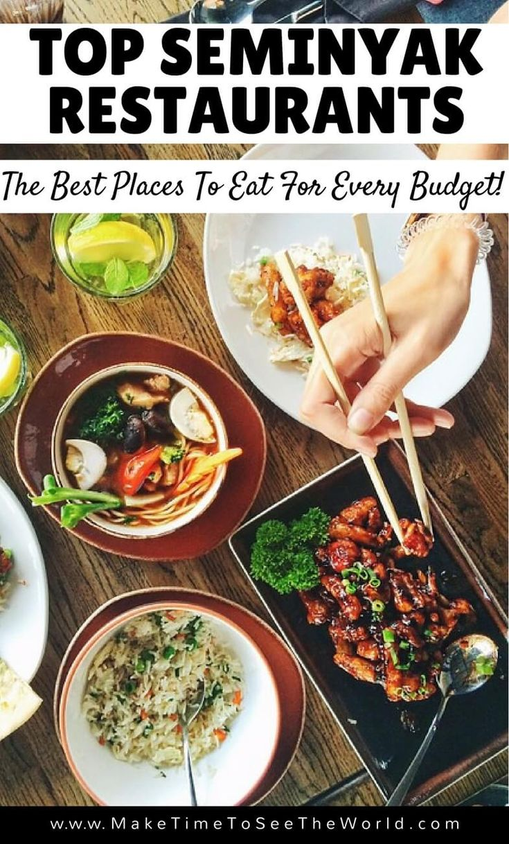 Seminyak is Bali's Foodie Paradise! Click through for our run down of the Best Place to Eat Bali & take you on a tour of the top Seminyak Restaurants *************************************************************************************** Where to Eat Seminyak   Top Restaurants Seminyak   Best Restaurants Seminyak   Budget Restaurants Seminyak   Best Places to Eat in Bali