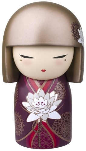 """Kimmidoll™ Satoko - 'Sincerity' - """"My spirit brings authenticity and integrity. By being true to your feelings and honest in your dealings you ensure that all your opinions and actions truly reflect who you are and what you stand for. May you always live an authentic life and honour the integrity of my spirit."""""""