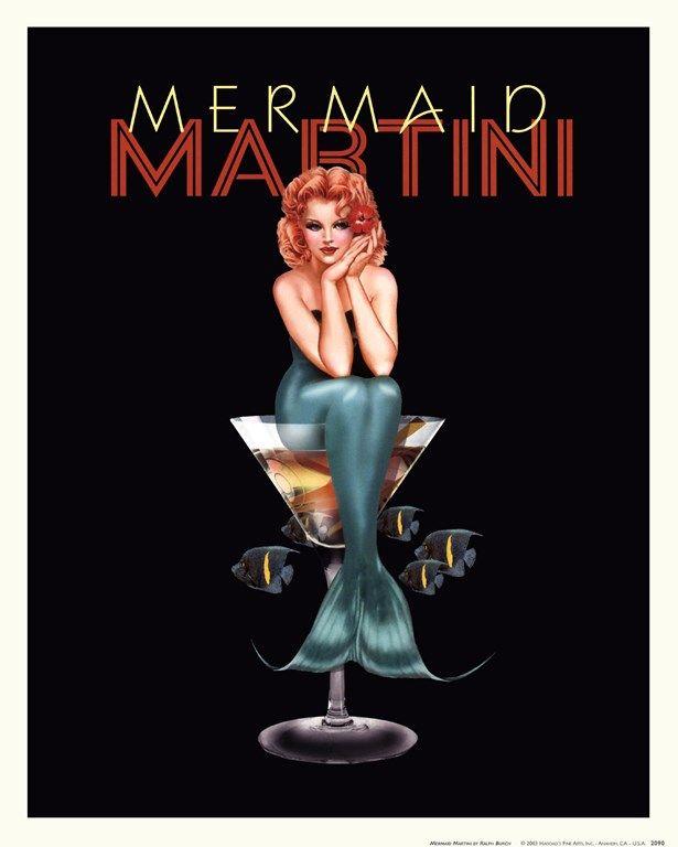 Ralph Burch Mermaid Martini