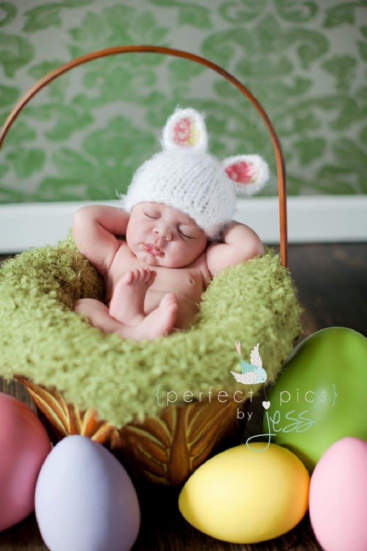 Image result for Easter infant photoshoot ideas