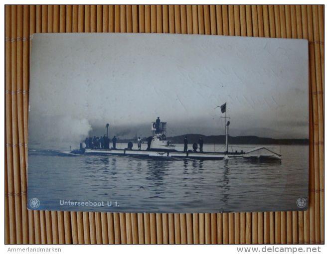 U-Boot, Unterseeboot U1, Gelaufen 1943 ! - Submarinos