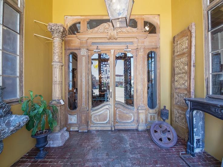 Our Denver showroom door entrance - 44 Best Make A Statement Antique Doors Images On Pinterest