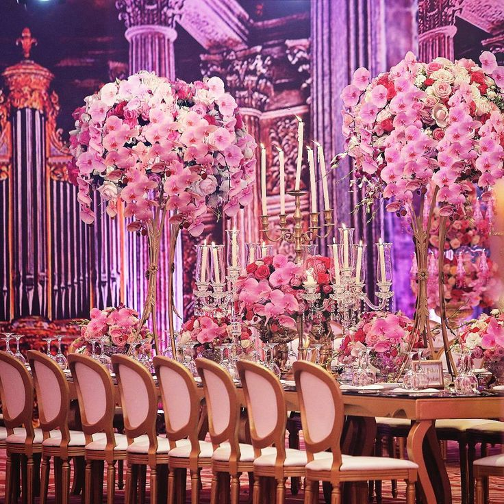 89 best wedding table setting images on pinterest wedding tables lebanese weddings lebaneseweddings on instagram elegant wedding reception thats dripping with junglespirit Image collections