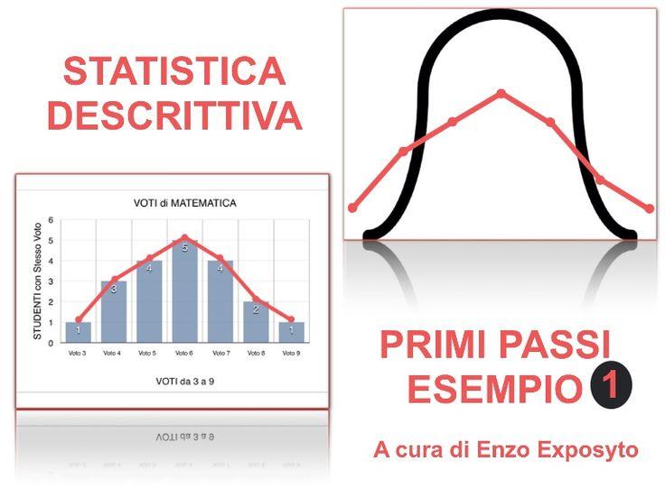 STATISTICA DESCRITTIVA - PRIMI PASSI-1 - MEDIE, MODA, MEDIANA, ISTOGRAMMA, DIAGRAMMA a DISPERSIONE, a TORTA - CARATTERE, MODALITÀ, FREQUENZA - CALCOLI e GRAFICI PASSO PASSO