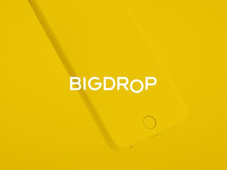 """다음 @Behance 프로젝트 확인: """"BigDropInc"""" https://www.behance.net/gallery/43605653/BigDropInc"""