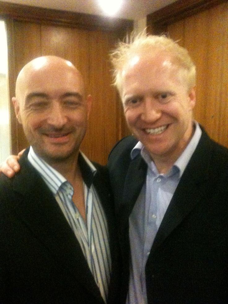 David Tillyer with Simon Zutshi