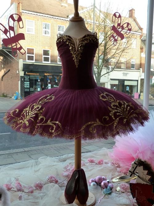 missingsisterstill: Russian made ballet dress from On Point ...PURPLE .. BIG PHOTO