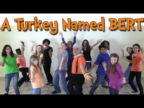 Thanksgiving Songs for Children - A Turkey Named Bert - Dance Songs for Kids by The Learning Station - YouTube