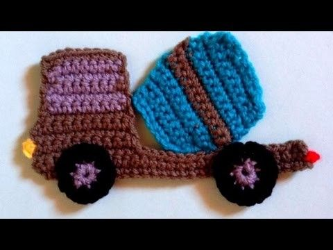 How To Crochet A Cute Concret Mixer Truck Applique - DIY Crafts Tutorial - Guidecentral