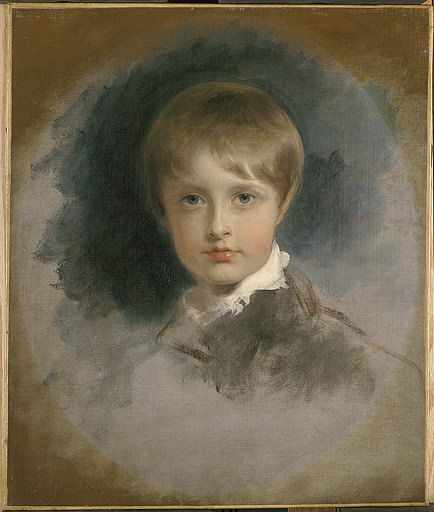 Napoleon's son, Napoleon François Charles Joseph Bonaparte, also known as the King of Rome, Napoleon II, the Prince of Parma and the Duke of Reichstadt. Born March 20, 1811. Painting by Thomas Lawrence, 1818-1819.