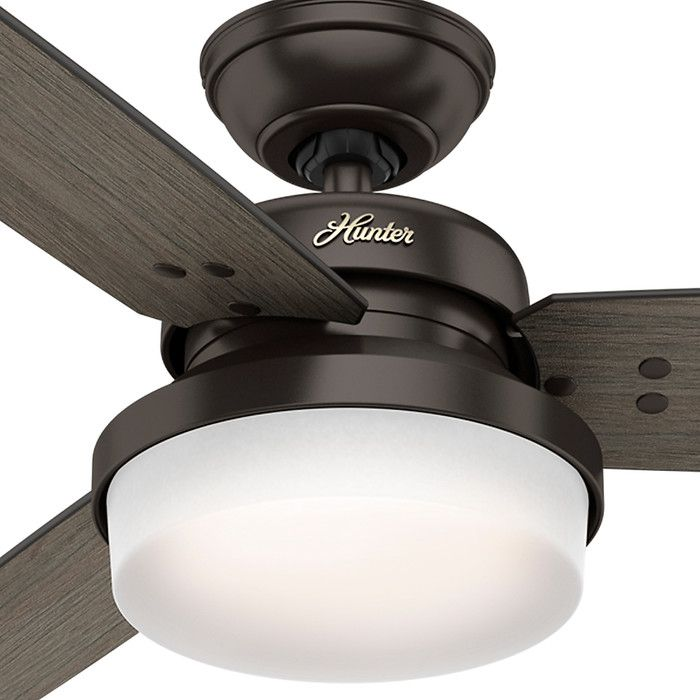 433 best casablanca and hunter fans images on pinterest ceiling hunter sentinel 5921 52 in indoor ceiling fan with remote three blades and a sleek frosted glass shade give this hunter sentinel 5921 52 in aloadofball Images