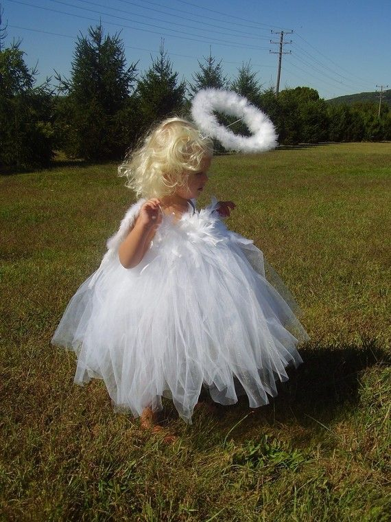 feathers on top, tulle tutu that starts under chest