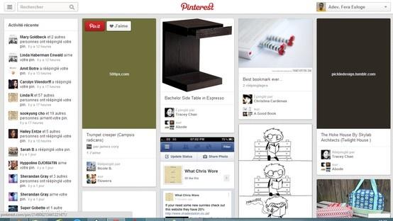 Pinterest New Look! #pinterest