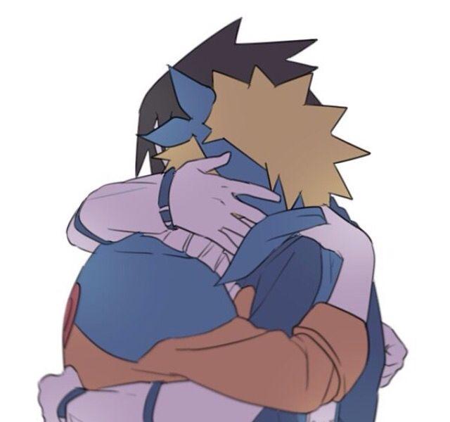 Naruto and Sasuke best friends ✌️