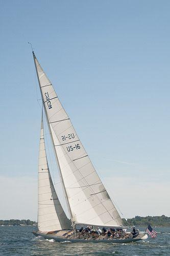 America's Cup Winner Columbia Sailing in Newport, RI!