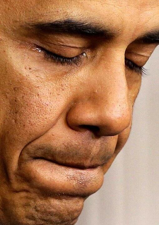 Sandy Hook Shooting Press Conference...President Barack Obama