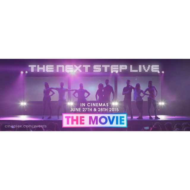 The secret project is out! #TheNextStep Live The Movie is coming to @cineplexmovies theatres across Canada June 27th and 28th!! Visit #Cineplex and get your tickets TODAY!  #tnsliveonstage #tnsthemovie