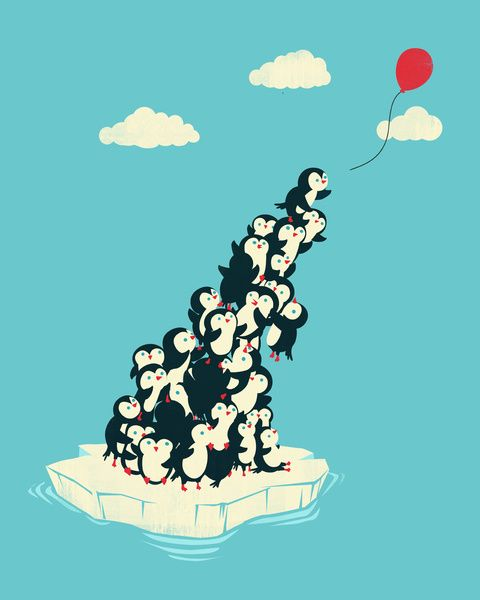 Balloon! por Jay Fleck - Coisas da Interwebs