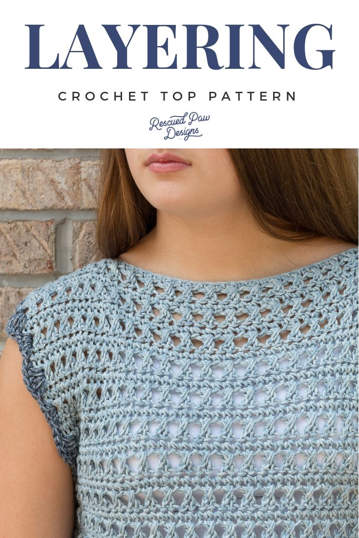da6ba651ad56 Use this Free Crochet Top Pattern to make the Olivia Crochet Sweater! You  CAN learn how to crochet a sweater today with this free crochet pattern!