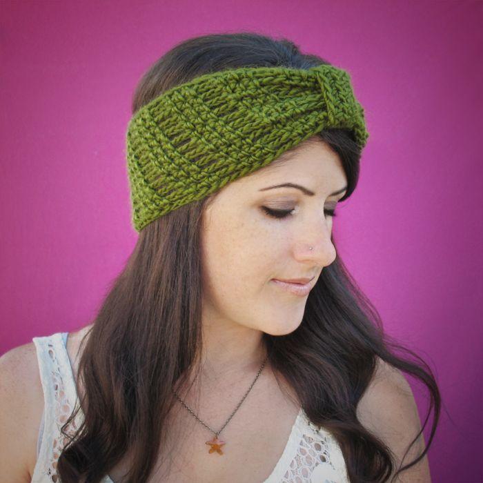 Beautiful Crochet Pattern For Headband Pattern - Blanket Knitting ...