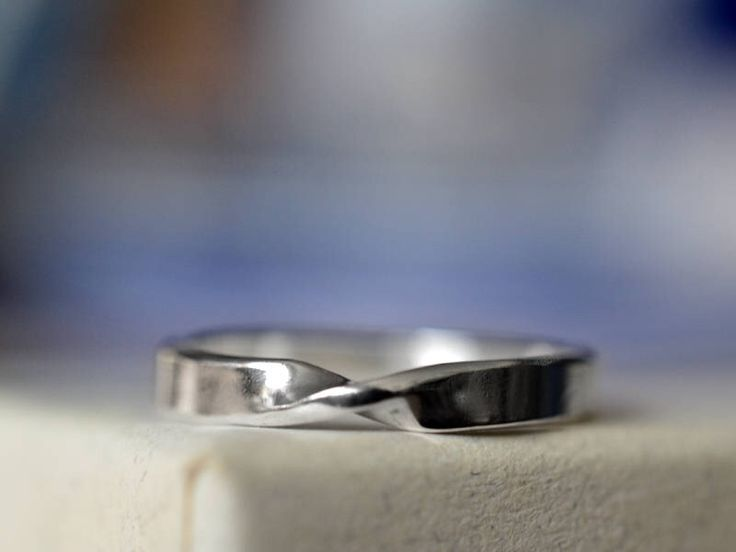 Silver Mobius Ring, Men's Narrow Mobius Wedding Band, Unisex Mathematical Science Stacking Jewelry by fifthheaven on Etsy https://www.etsy.com/au/listing/120326867/silver-mobius-ring-mens-narrow-mobius