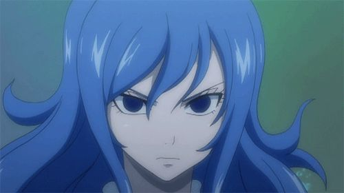 Juvia!! My favorite character (for girls) on Fairy Tail!