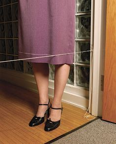 one-woman hem-marking device, from threads magazine