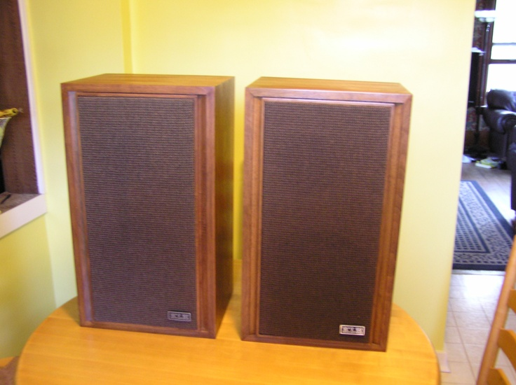 Klh 23 Speakers Vintage Amp Newer Stereo Speakers I Ve