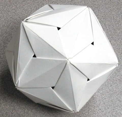 Diamond edge icosahedron by malachus via flickr