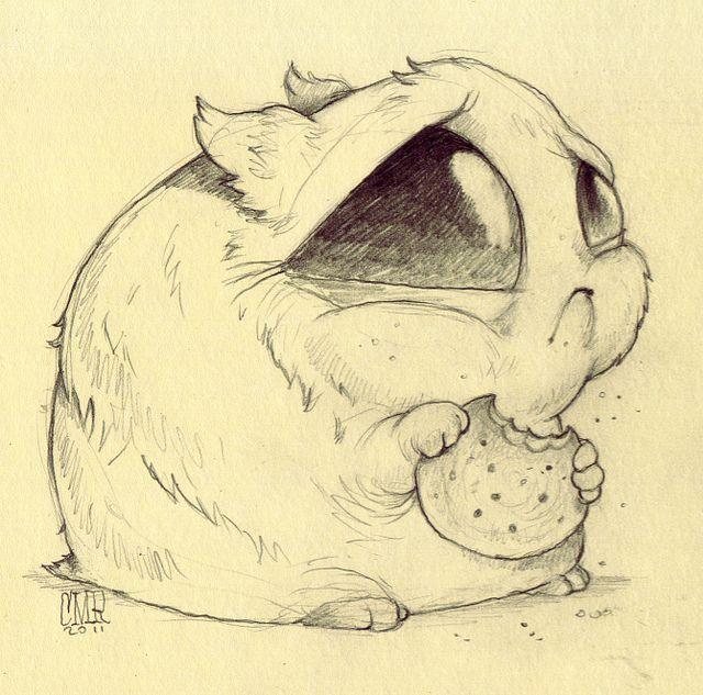 Chris Ryniak. Creature Sketch / Drawing Illustration