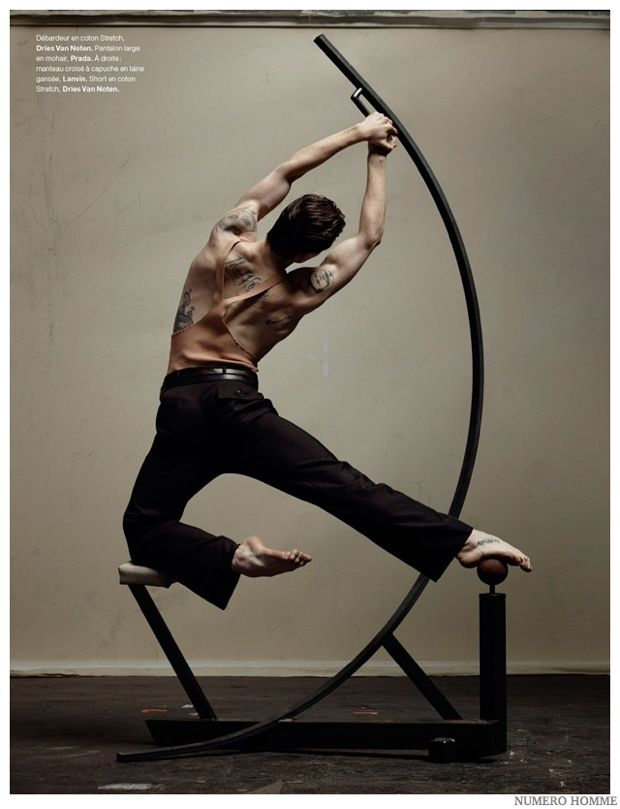 Sergei Polunin Dances for Numéro Homme Fashion Shoot image Sergei Polunin Numero Homme 2014 Photo Shoot 004