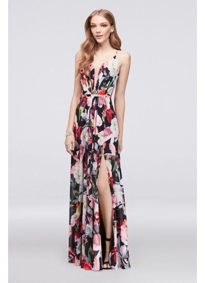 8ca7d328c5d Long A-Line Spaghetti Strap Formal Dresses Dress - Cachet