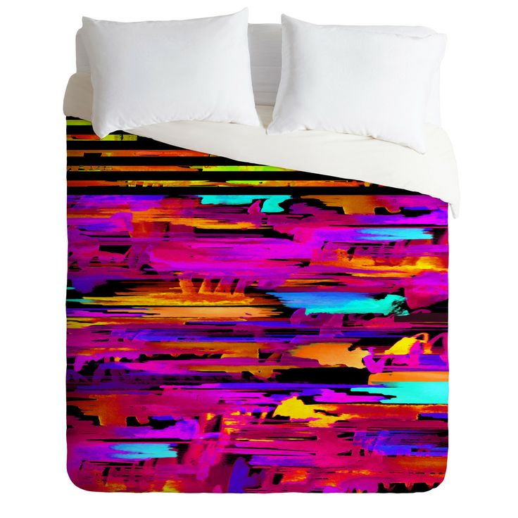 Holly Sharpe Colorful Chaos 2 Duvet Cover | DENY Designs Home Accessories