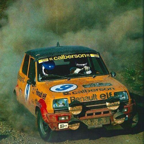 Jean Ragnotti-Andrié - Renault 5 Alpine - Rallye de L'Acropole (1979) L'année…